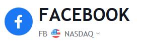 Facebook Stock Price | FB Shares Chart