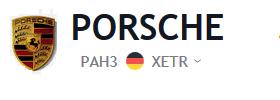 Porsche Aktienkurs | PAH3 Aktie Chart
