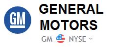 General Motors Stock Price | GM Shares Chart