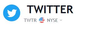 Twitter Stock Price | TWTR Shares Chart